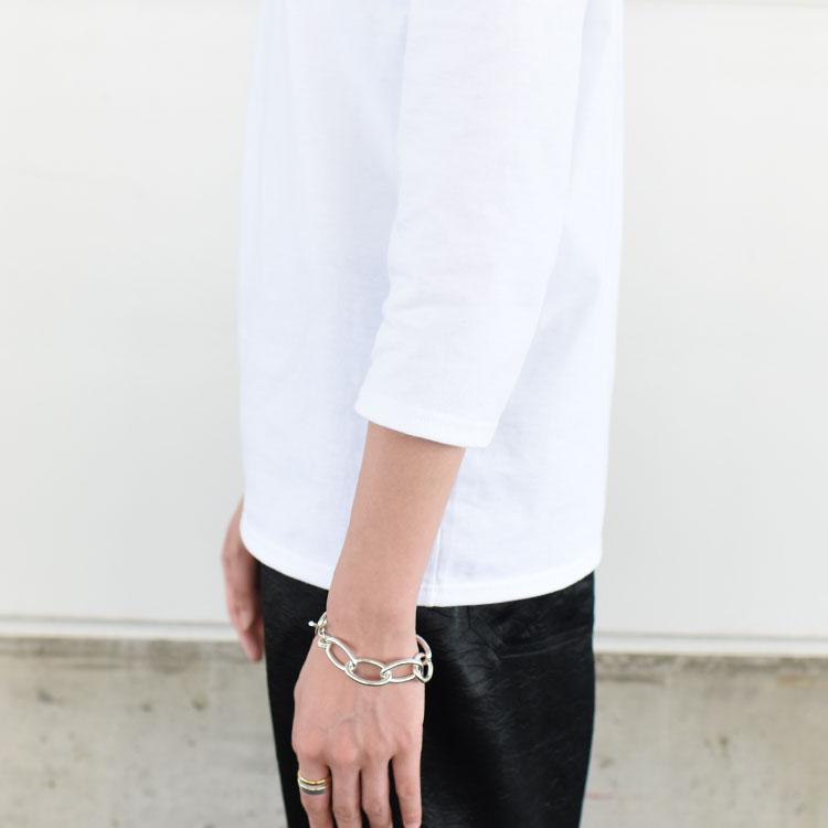 SAINT JAMES(セントジェームス)/MORLAIX モーレ 7分袖Tシャツ ボーダー・無地/レディース/メンズ/セントジェームス モーレ/セントジェームス 7分袖【ネコポス1点まで可能】