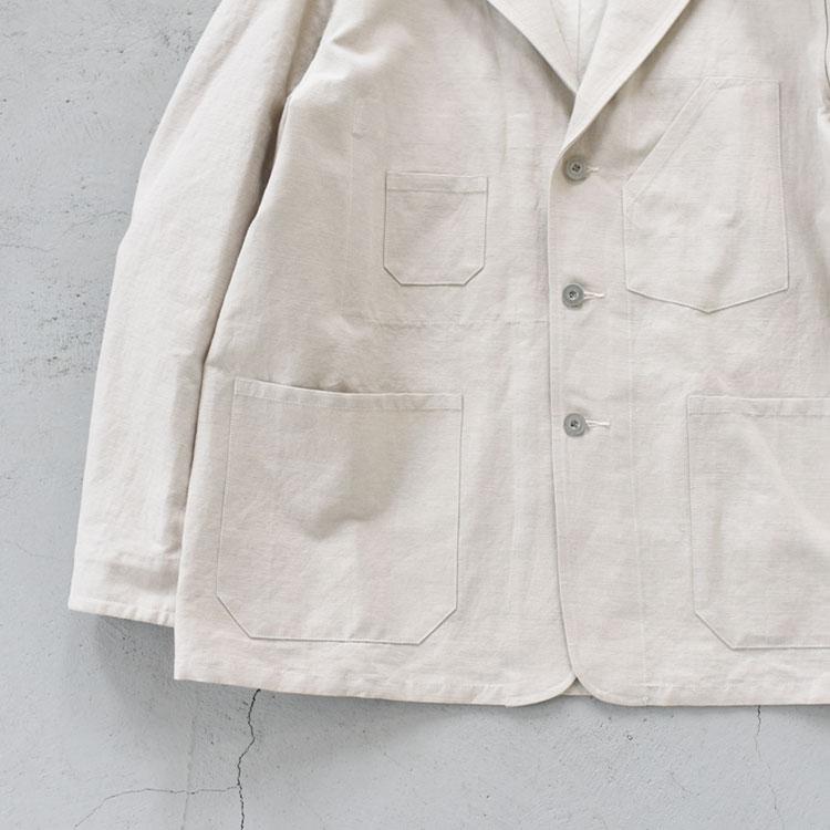 ULTERIOR(アルテリア)/CL TWILL WORK JACKET CLツイルワークジャケット【2021春夏】