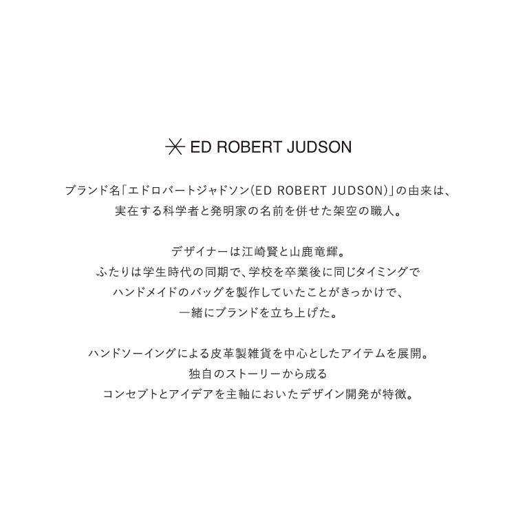ED ROBERT JUDSON(エドロバートジャドソン)/MINI HAND BAG ミニハンドバッグ【2021春夏】