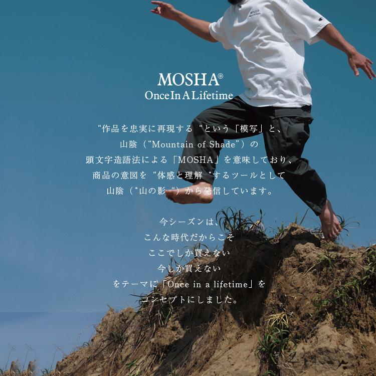 【SALE 20%OFF】MOSHA(モシャ)/RUN FOREST RUN S/S T ランフォレストランTシャツ【2021春夏】【返品交換不可】