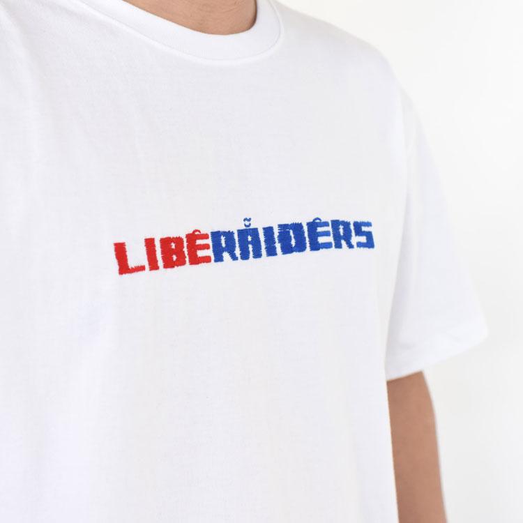 【SALE 30%OFF】Liberaiders(リベレイダース)/Liberaiders EMBROIDERY TEE リベレイダースエンブロイダリーTシャツ/メンズ/liberaiders 通販/リベレイダース 通販/リベレイダース Tシャツ【返品交換不可】