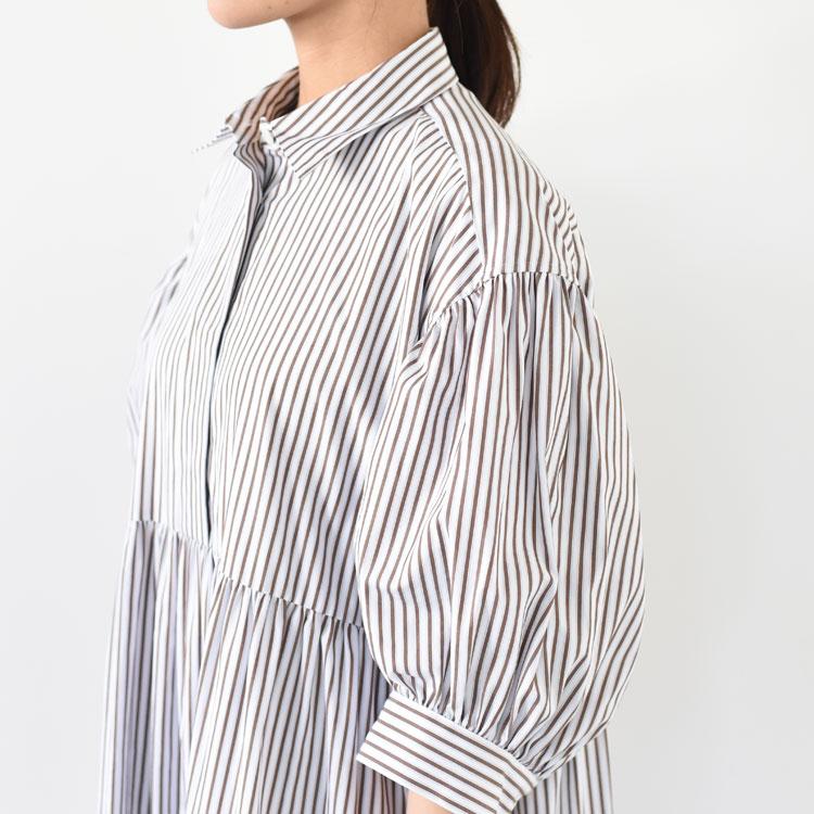 THE SHINZONE(ザ シンゾーン)/MACKENZIE DRESS マッケンジードレス【2021春夏】