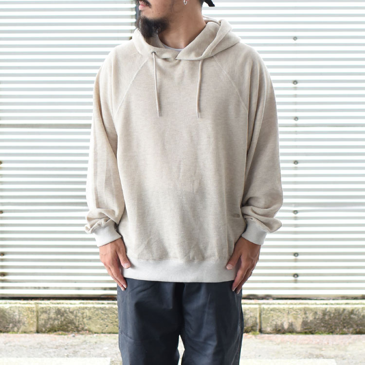 THE NORTH FACE PURPLELABEL(ザ ノースフェイス パープルレーベル)/Pack Field Hooded Sweatshirt パックフィールドフーデッドスウェットシャツ【2021秋冬】