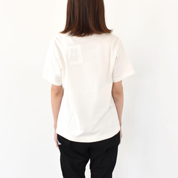 【SALE 20%OFF】and wander(アンドワンダー)/john muir by YUKO SAEKI short sleeve T ショートスリーブティー【2021春夏】【返品交換不可】