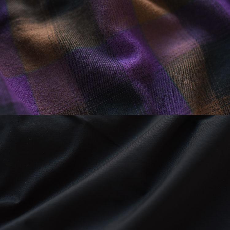 【SALE 30%OFF】and wander(アンドワンダー)/REVERSIBLE NYLON JACKET リバーシブルナイロンジャケット【2020秋冬】【返品交換不可】