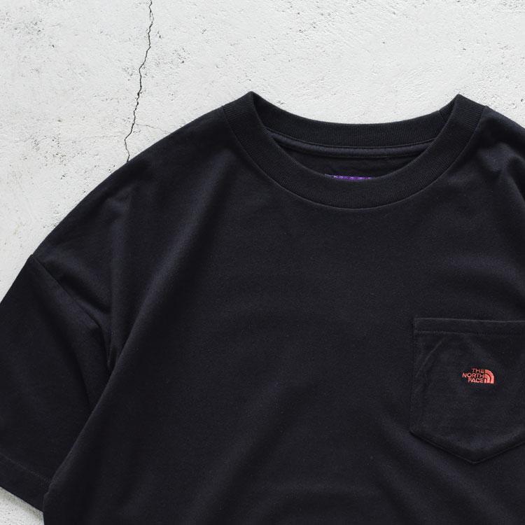 THE NORTH FACE PURPLELABEL(ザ ノースフェイス パープルレーベル)/High Bullky H/S Pocket Tee ハイバルキー ポケットTシャツ【2021春夏】