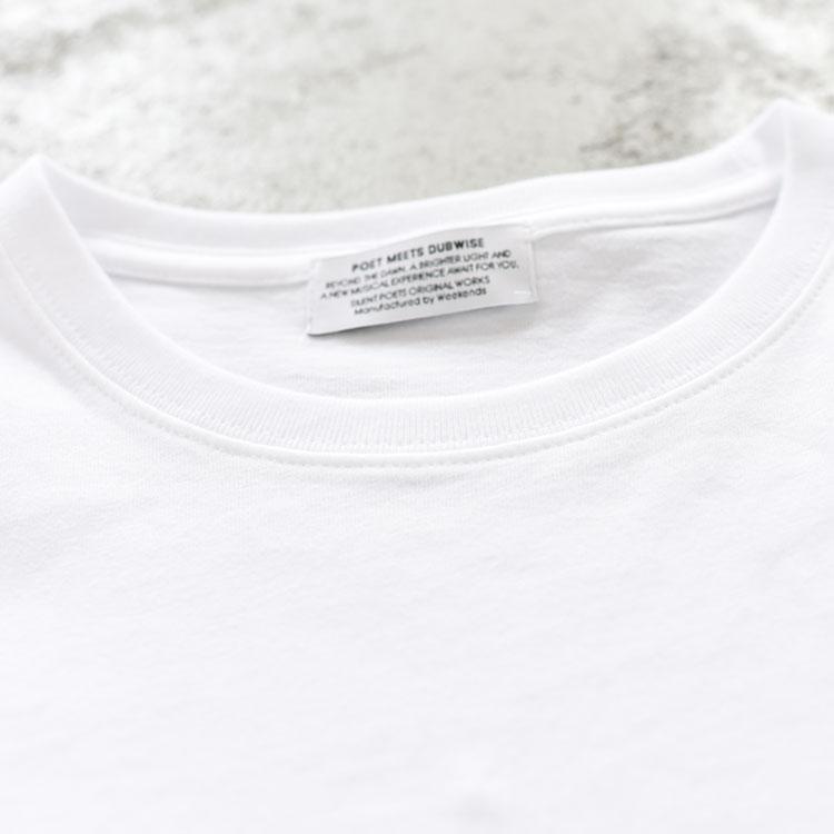 "POET MEETS DUBWISE(ポエトミーツダブワイズ)/""A ONCE IN A LIFTIME × MOSHA"" Oversize T-Shirt(BINGOYA Exclusive) オーバーサイズTシャツ【2021春夏】"