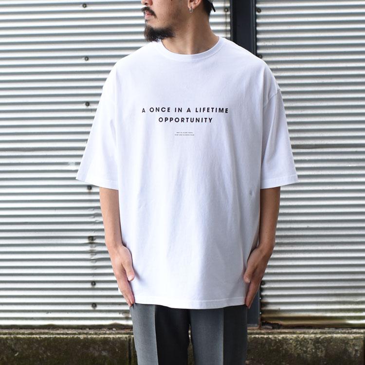 "【SALE 30%OFF】POET MEETS DUBWISE(ポエトミーツダブワイズ)/""A ONCE IN A LIFTIME × MOSHA"" Oversize T-Shirt(BINGOYA Exclusive) オーバーサイズTシャツ【2021春夏】【返品交換不可】"