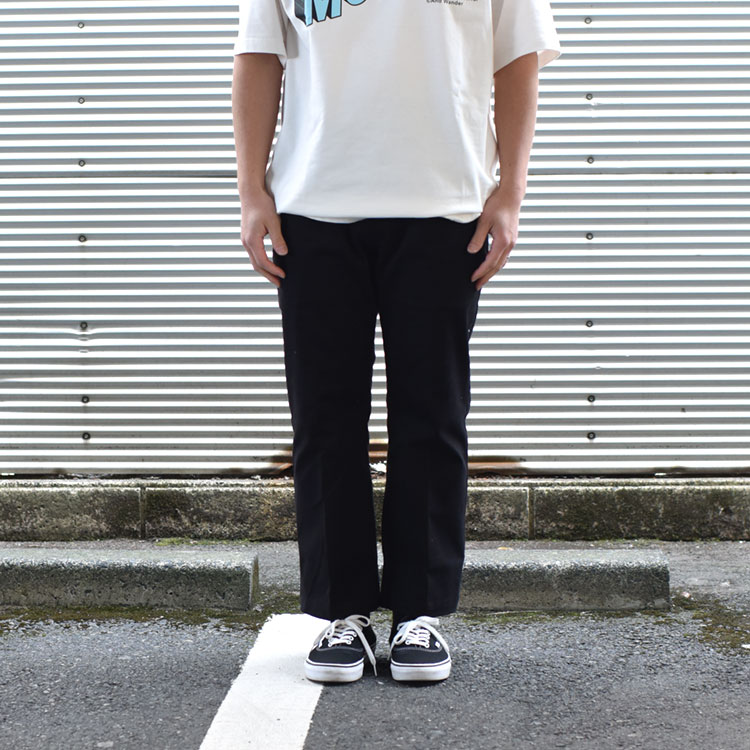 VOTE MAKE NEW CLOTHES(ヴォートメイクニュークローズ)/LOOSE BOOTS CUT CHINO ルーズブーツカットチノ【2021春夏】