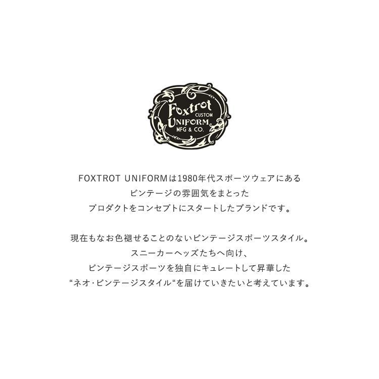 FoxtrotUniform(フォックストロットユニフォーム)/FOX-UNION LACE フォックスユニオンレース【2021春夏】【ネコポス3点まで可能】