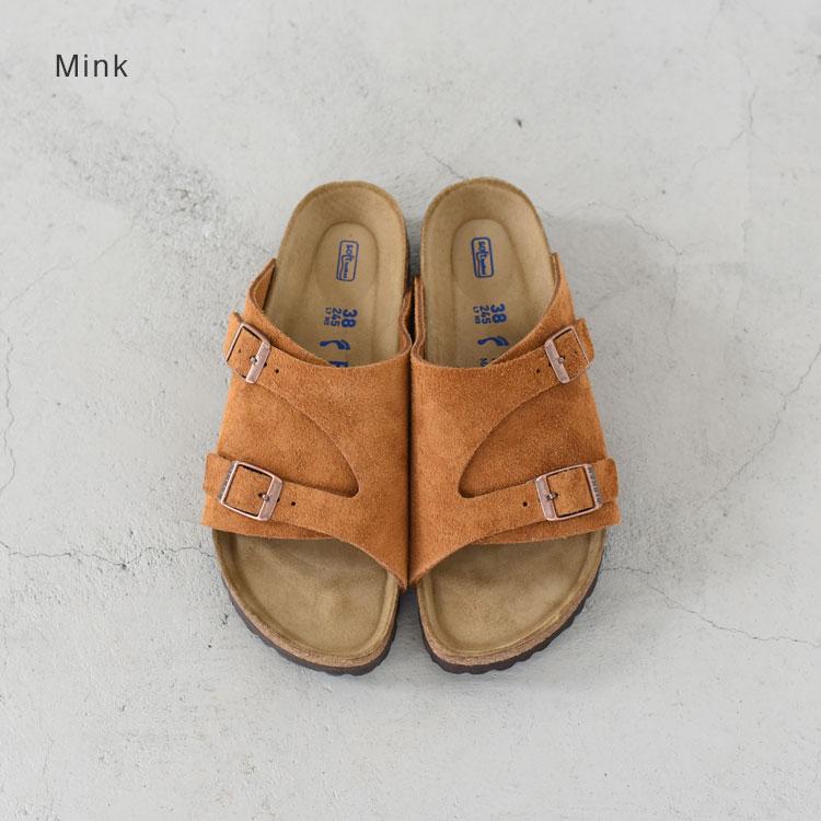 BIRKENSTOCK(ビルケンシュトック)/ZURICH Suede Leather チューリッヒスウェードレザー【2021春夏】