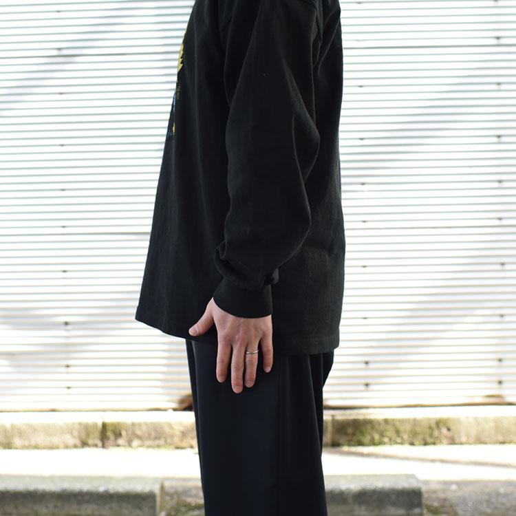 THE NORTH FACE PURPLE LABEL(ザ ノースフェイス パープルレーベル)/80oz L/S GRARHIC TEE グラフィックティーシャツ/メンズ/レディース【2021春夏】