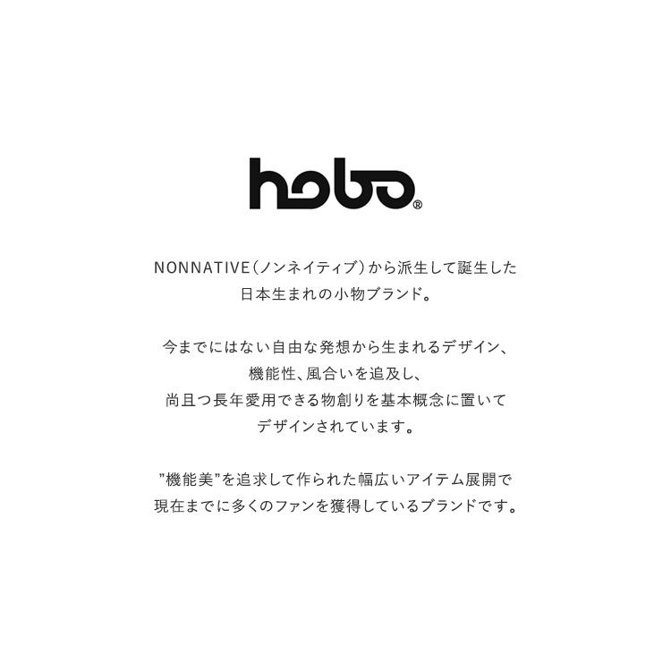 hobo(ホーボー)/ARTISAN S/S CREW NECK TEE COTTON HEAVYWEIGHT JERSEY INDIGO DYED ショートスリーブクルーネックティーシャツ【2021秋冬】