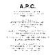 A.P.C.(アーペーセー)/TOTE LAURE BLACK LOGO JPS トートバッグ【2021春夏】