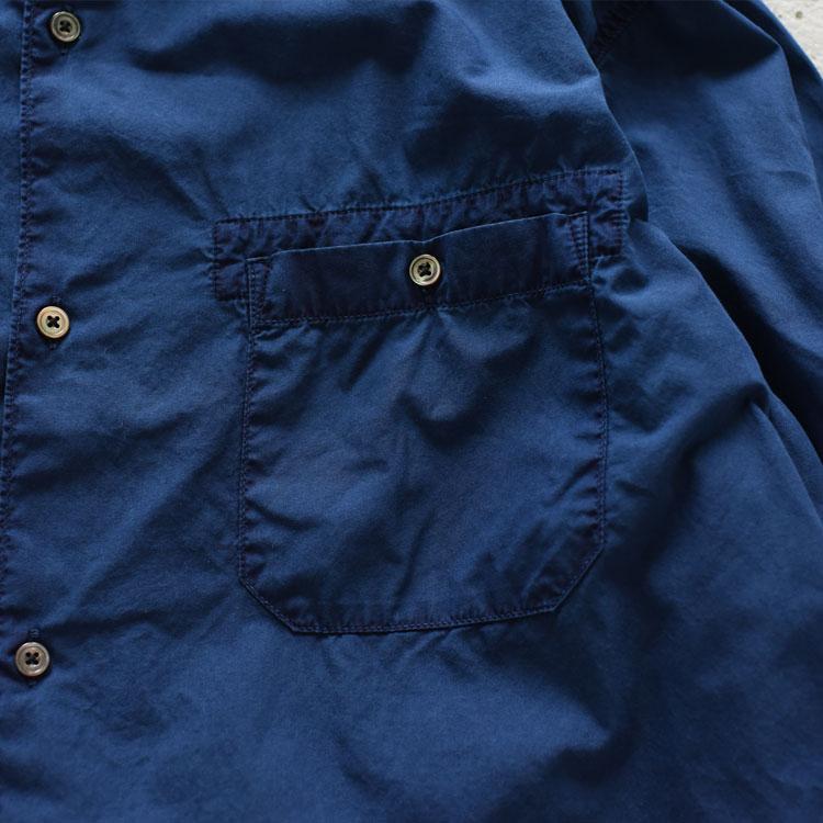 hobo(ホーボー)/ARTISAN L/S SHIRT COTTON BROAD INDIGO DYED  コットンブロードシャツ【2021秋冬】