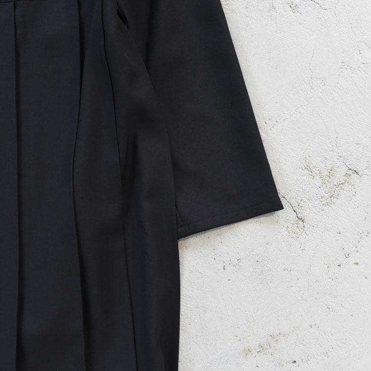 MidiUmi(ミディウミ)/crew neck pleats OP クルーネックプリーツワンピース/レディース/midiumi ワンピース/ミディウミ ワンピース/midiumi 通販/ミディウミ 通販/【2020秋冬】