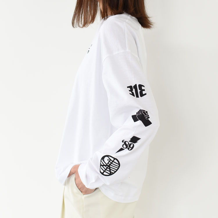Carhartt WIP(カーハート)/W L/S TAB T-SHIRT ロングスリーブTシャツ/レディース【2021春夏】