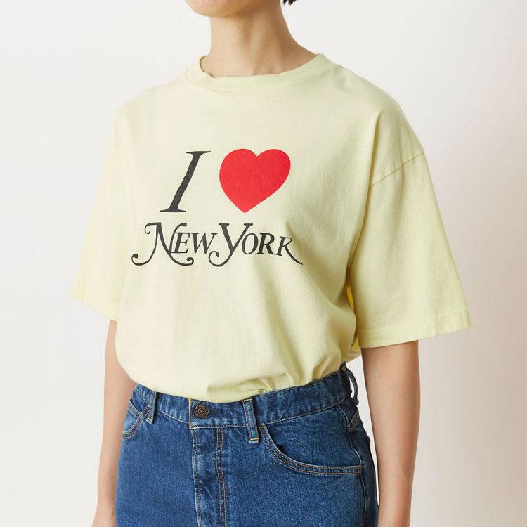 【予約商品】【8月下旬頃入荷予定】THE SHINZONE(ザ シンゾーン)/I LOVE NEW YORK T アイラブニューヨークティー【2021秋冬】【キャンセル不可】