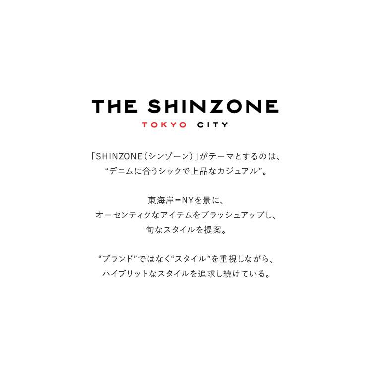 THE SHINZONE(ザ シンゾーン)/FAUX LEATHER JK 合皮ビッグコーチジャケット【2020秋冬】