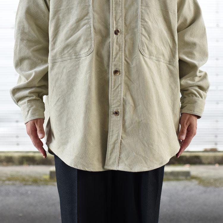 marka(マーカ)/BAND COLLAR W POCKET SHIRT バンドカラーダブルポケットシャツ【2021秋冬】