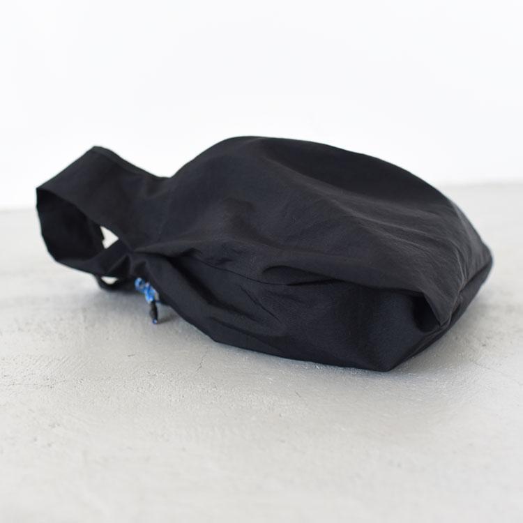 hobo(ホーボー)/NYLON TUSSAH CARRIER BAG ナイロンタッサーキャリーバッグ【2021春夏】