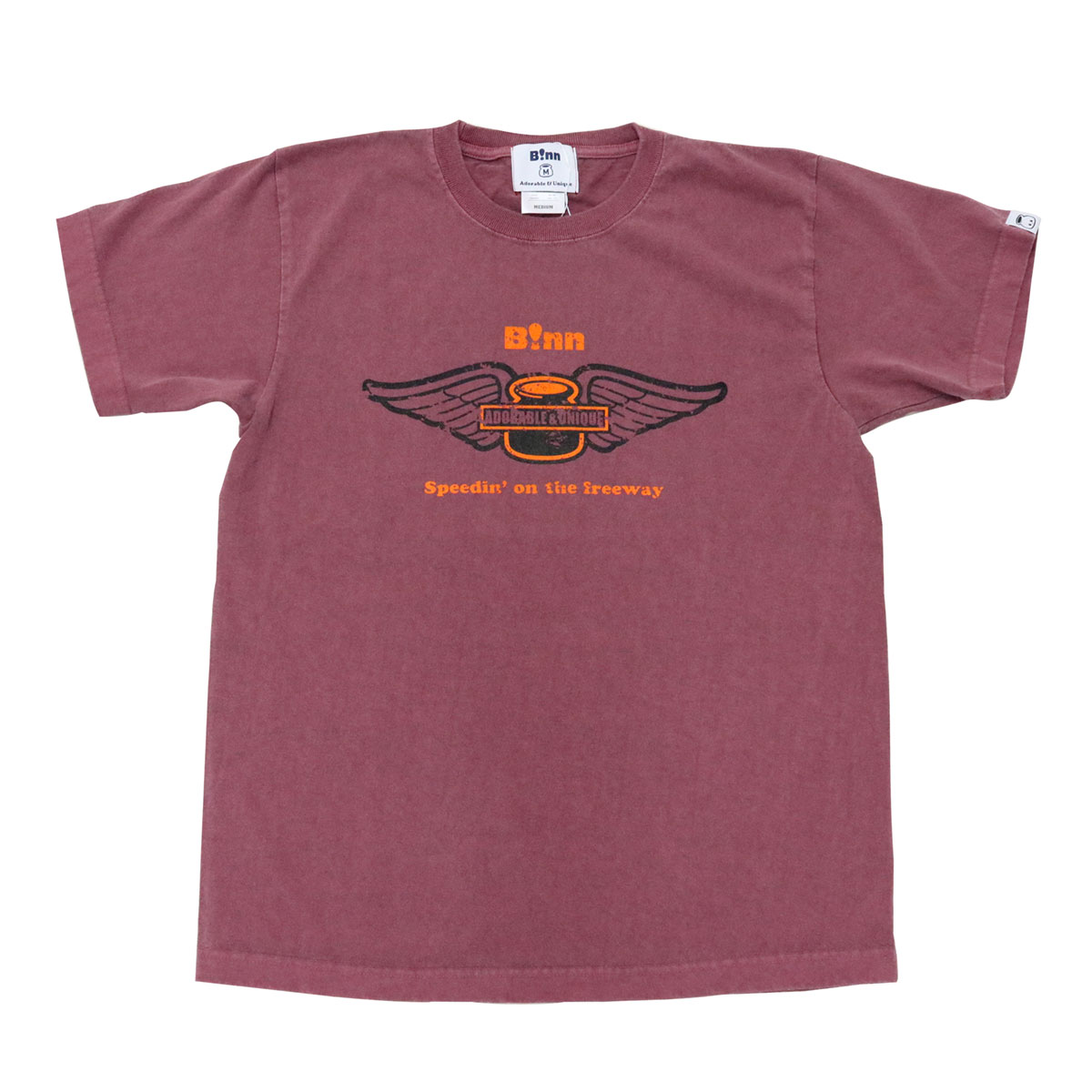 Wing Emblem T (Burgundy)