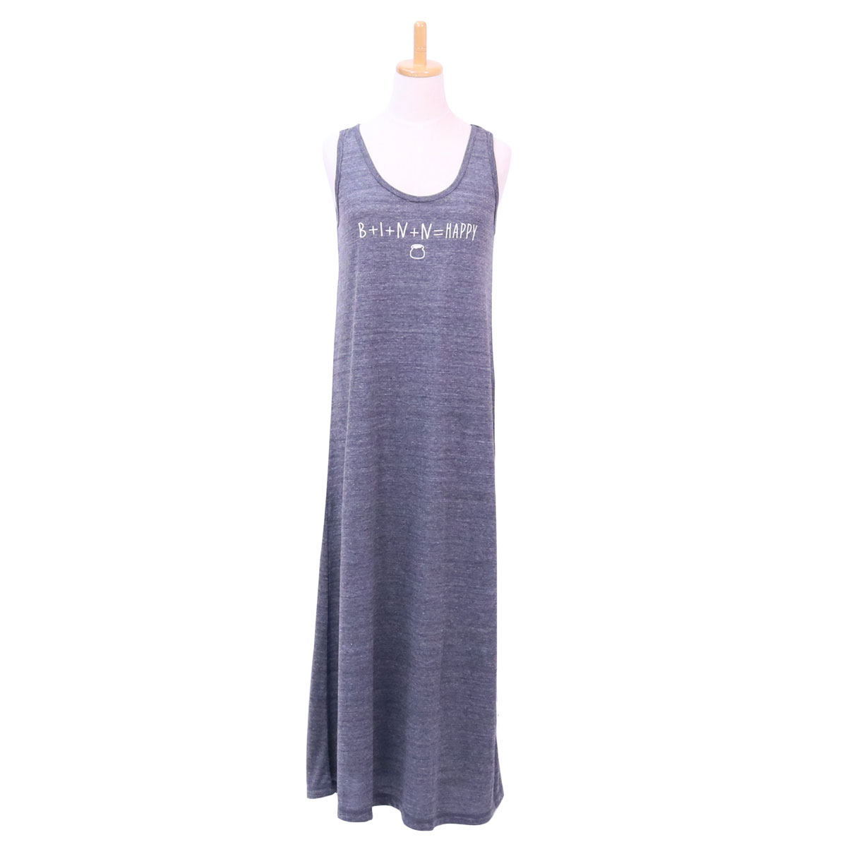 Happy Tank One-Piece (Gray)
