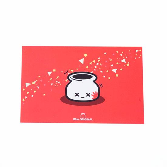 ポストカード(ビンタ)
