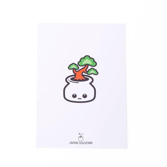 ポストカード(盆栽)