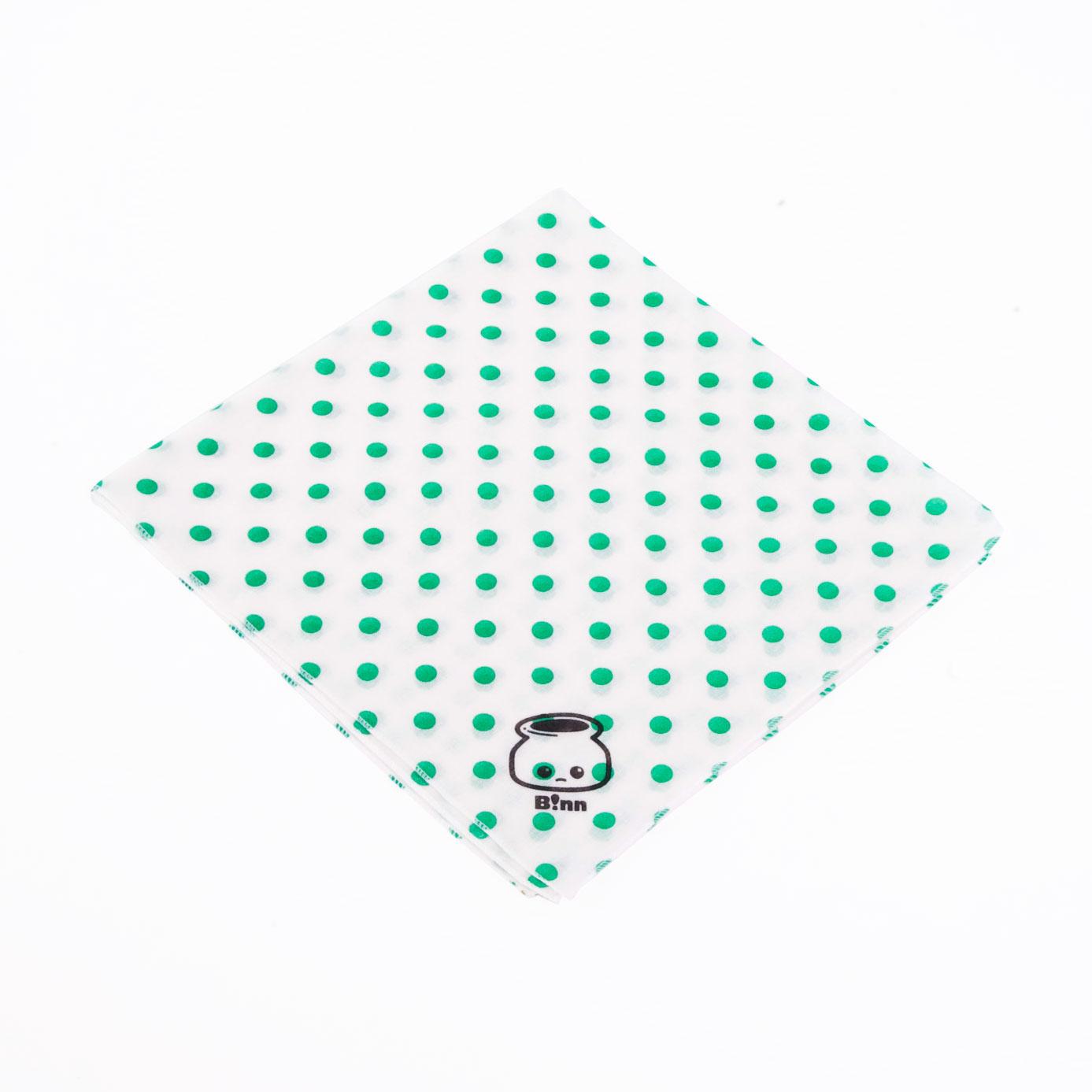 ハンカチ(White/Dot)
