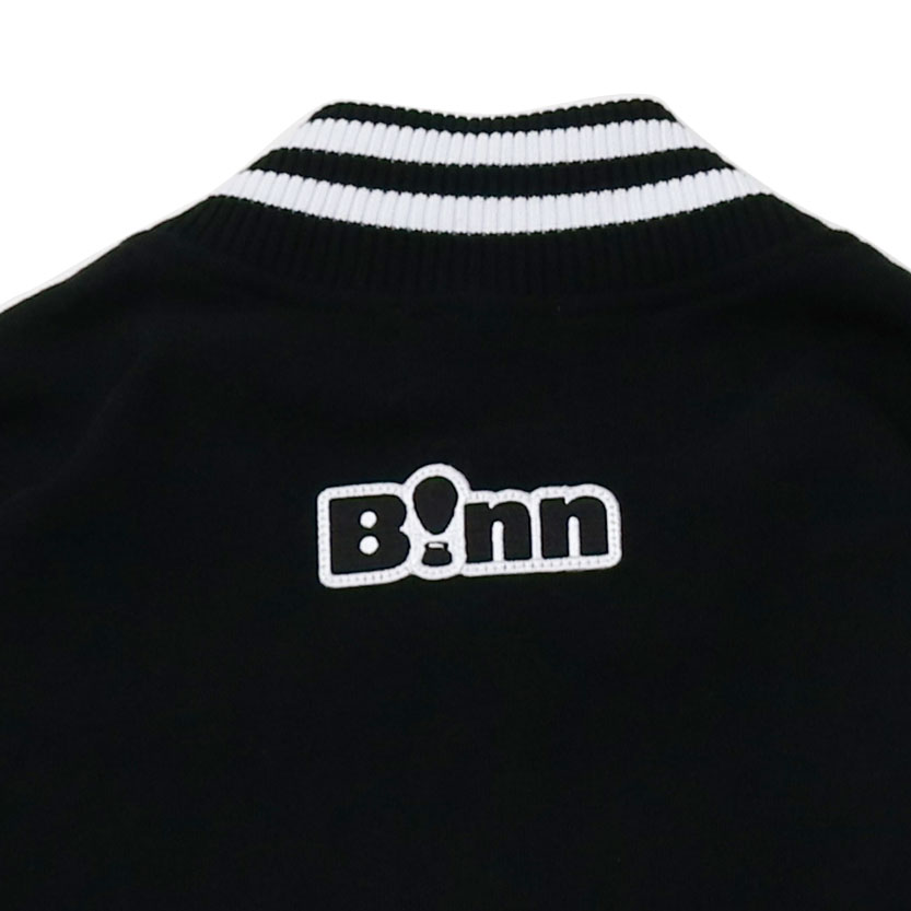 PATCH SWEAT STADIUM JKT (Black)
