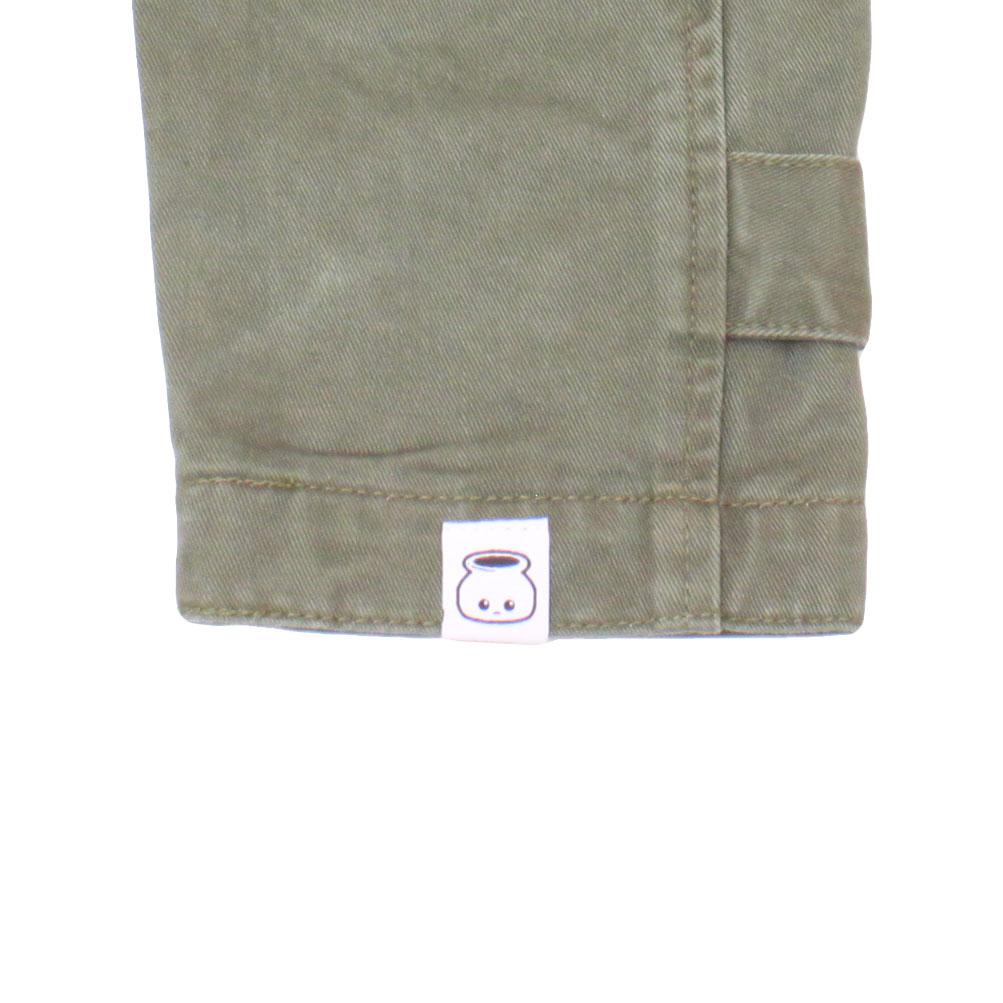 B!nn  ステンカラー Coat (Khaki)