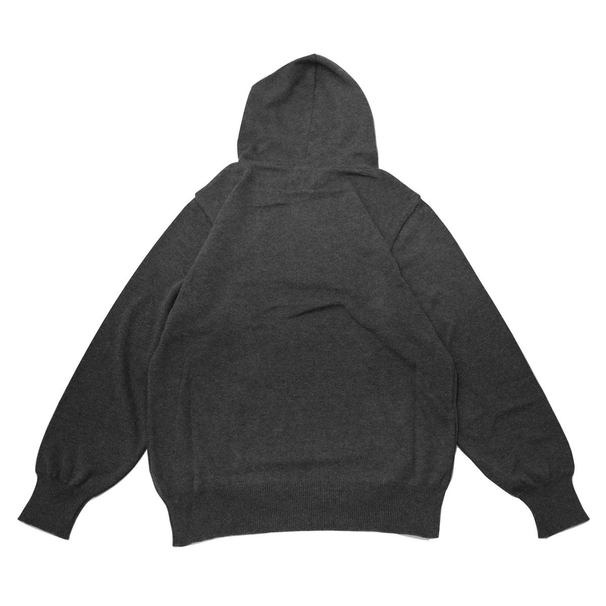 B!nn Knit Hoodie (Gray)