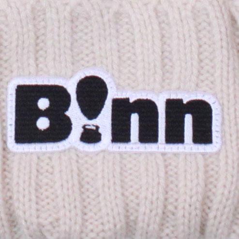B!nn Rib Beanie Cap (Ivory)