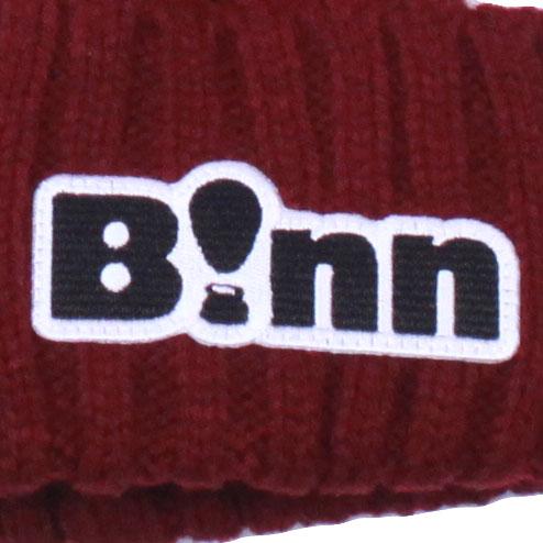 B!nn Rib Beanie Cap (Bordeaux)