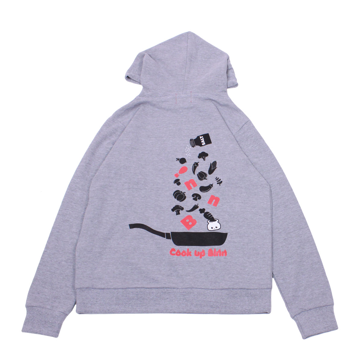 Cook Up B!nn Pullover Hoodie (HeatherGray)