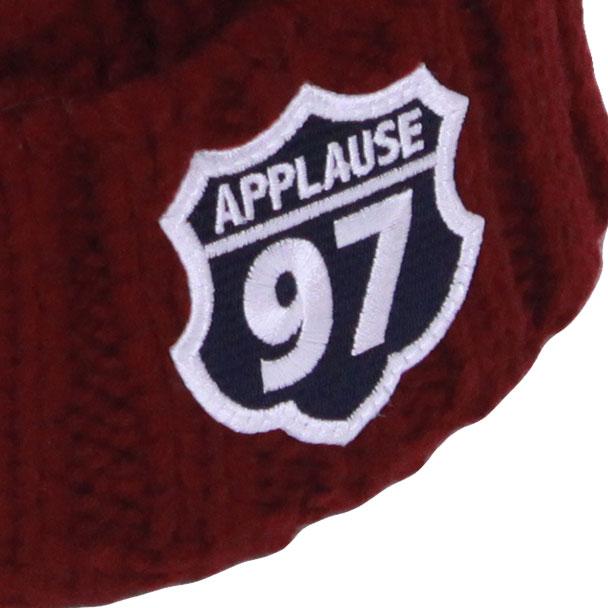 AP97 CABLE Beanie Cap (Bordeaux)
