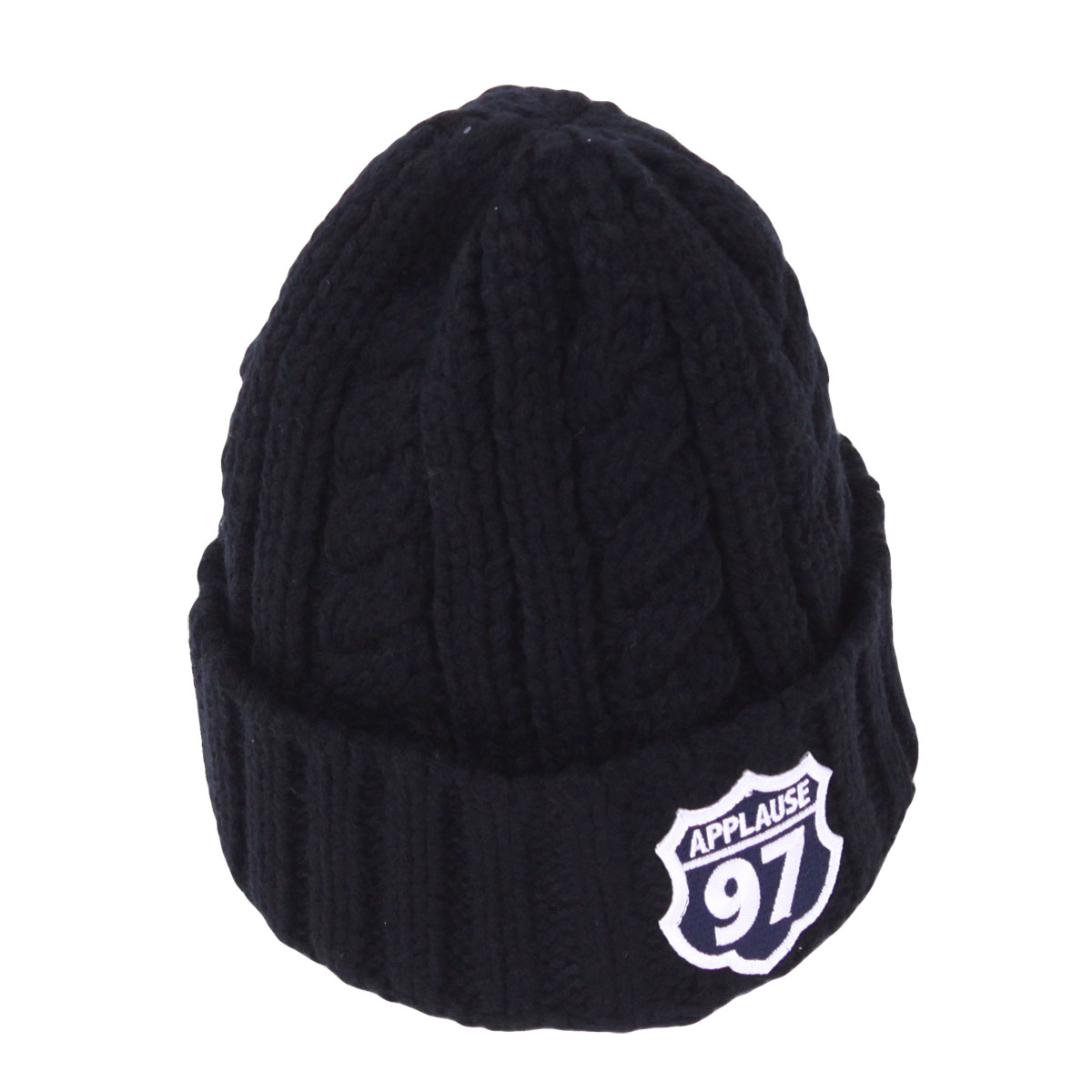 AP97 CABLE Beanie Cap (Black)