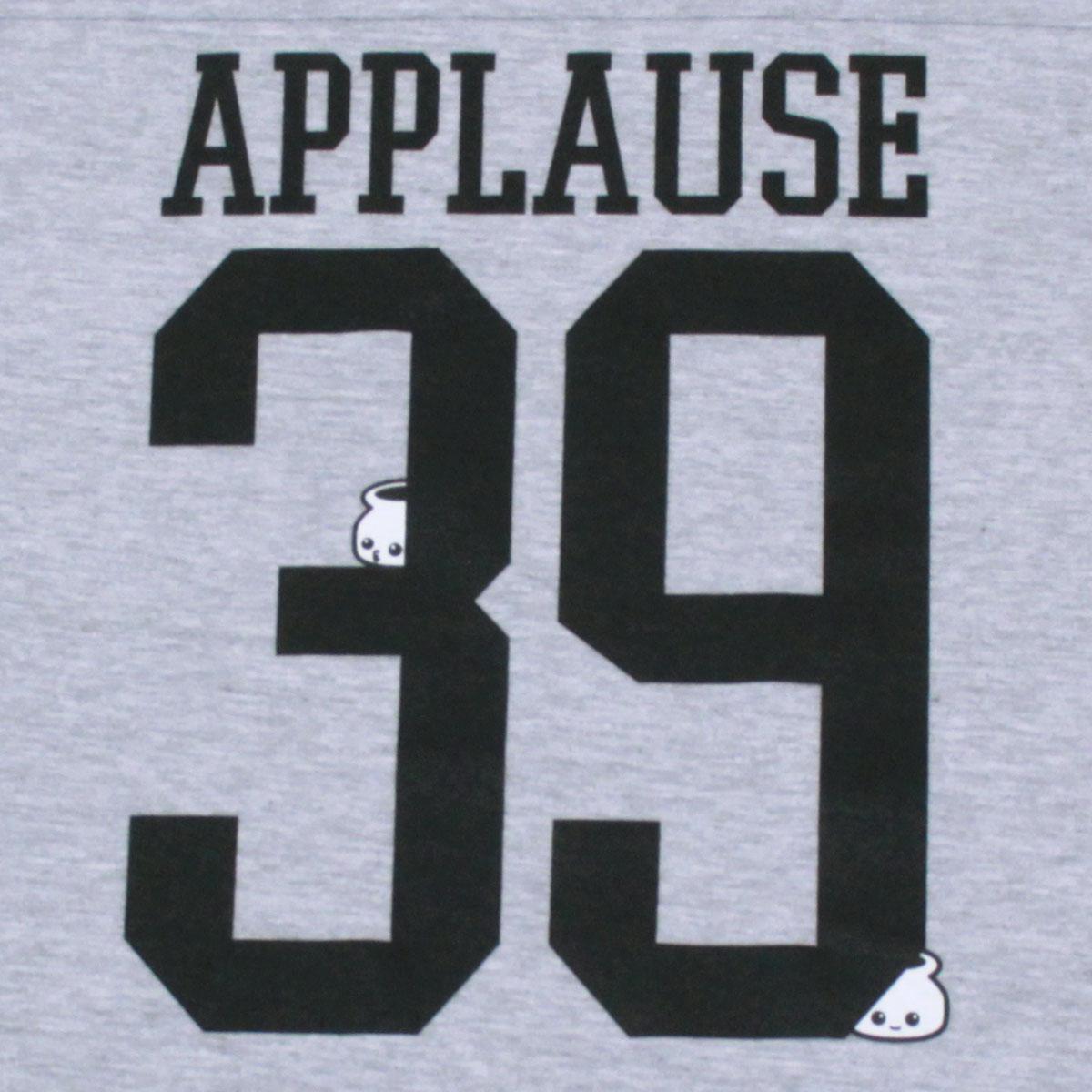 applause フットボールT(Gray)