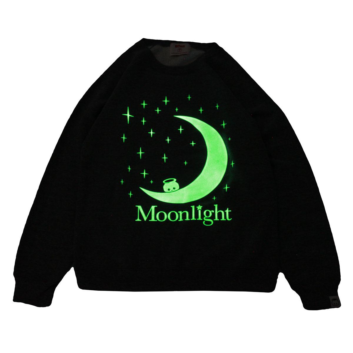 Moonlight Crew Neck Sweatshirt (Navy)
