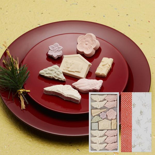 【お正月商品】ばいこう堂・和三宝糖干菓子 17個