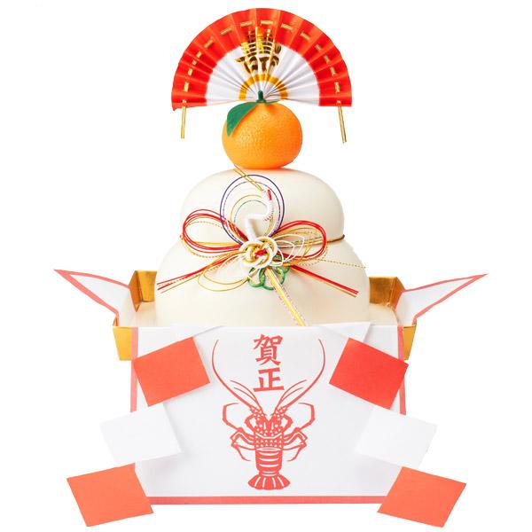 【お正月商品】白米切餅入 お供え餅600g(12個)