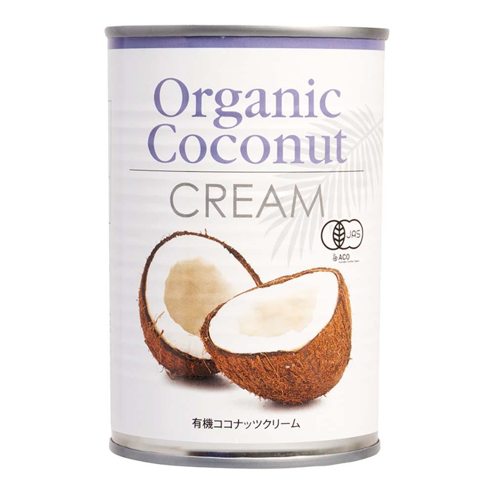 オーガニックココナッツクリーム 400ml