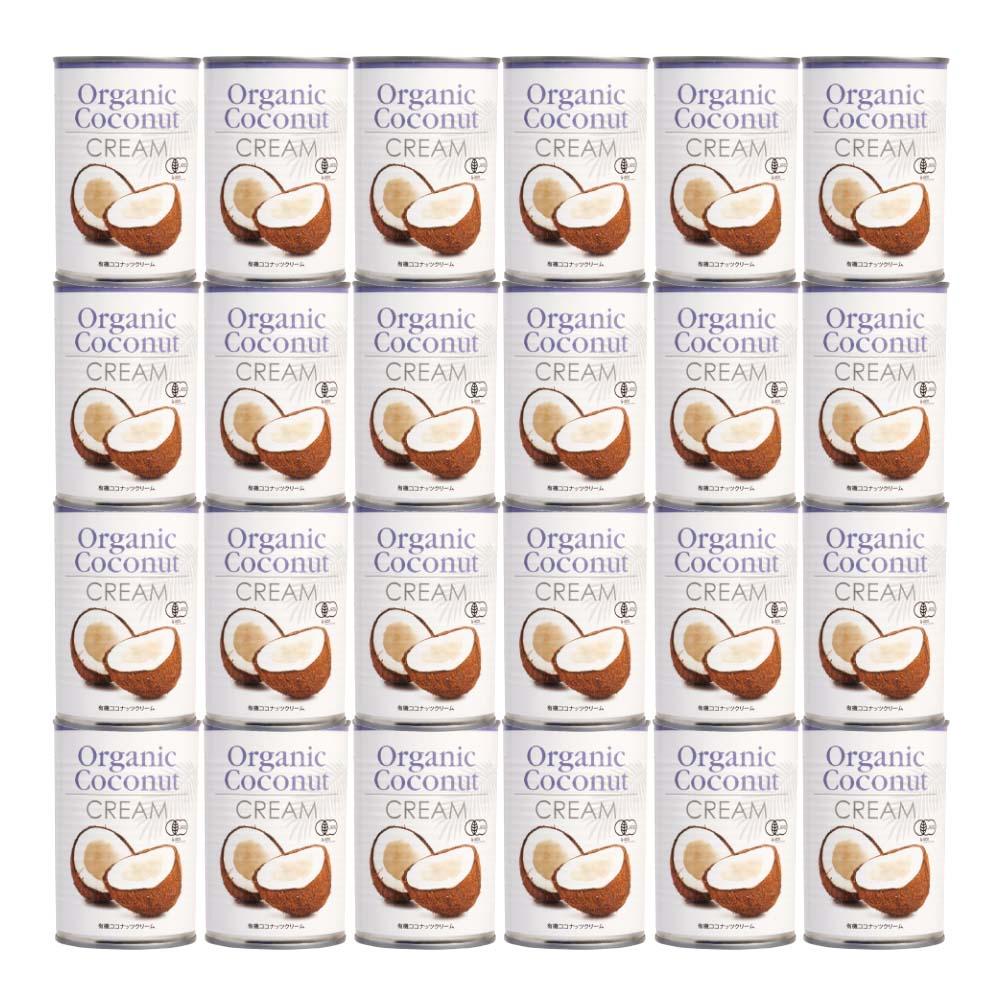 オーガニックココナッツクリーム 24本入(ケース)