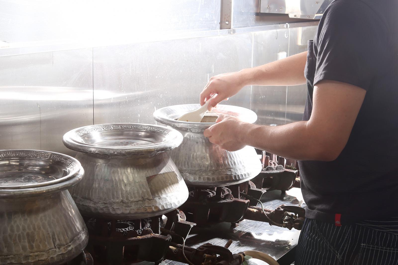 ココナッツ香る、南インド風ビリヤニ。えびビリヤニ