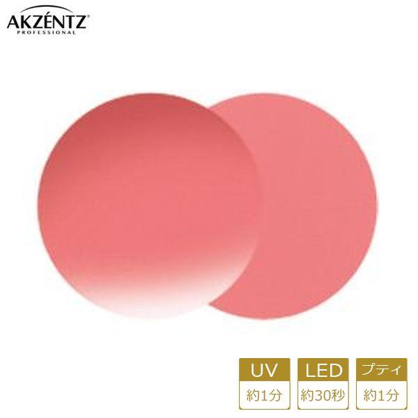 アクセンツ ジェルネイル UV/LED オプションズポリッシュカラーズUL081(C)コーラルピンク4g