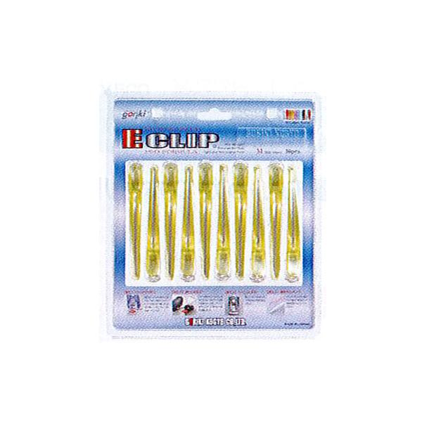 【ヘアクリップ】イークリップ Mサイズ 同色10本入り(安心の日本製)