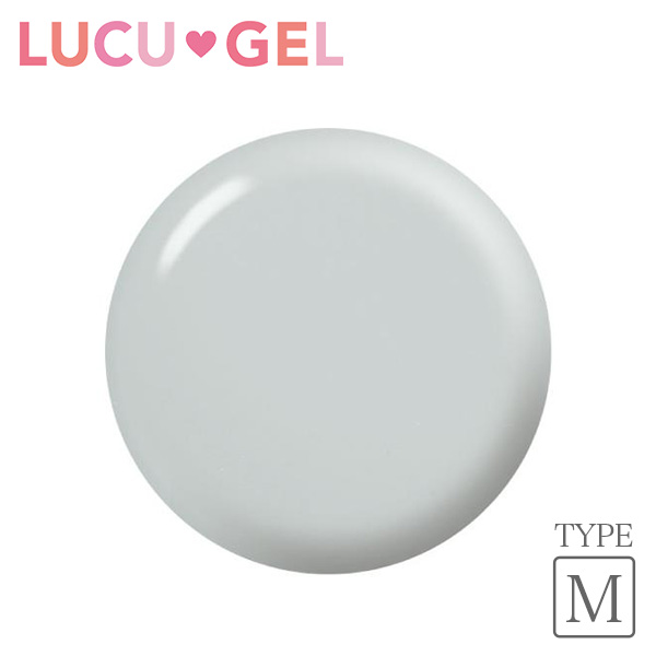 LUCUGEL ジェルネイルカラー ライトグレー GYM01(マット)