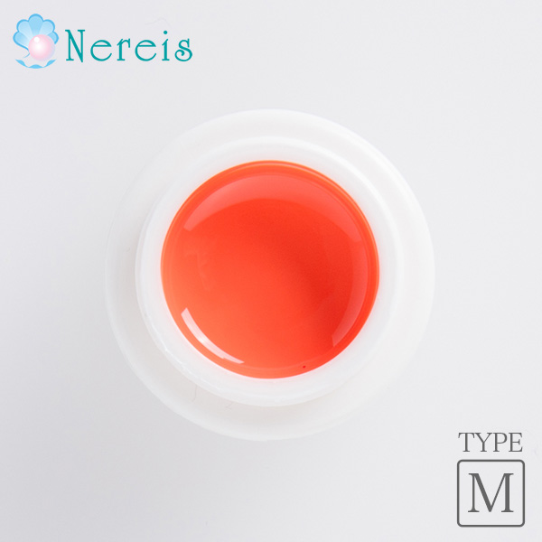 Nereis カラージェルネイル レディオランジュ 4g(MT035)