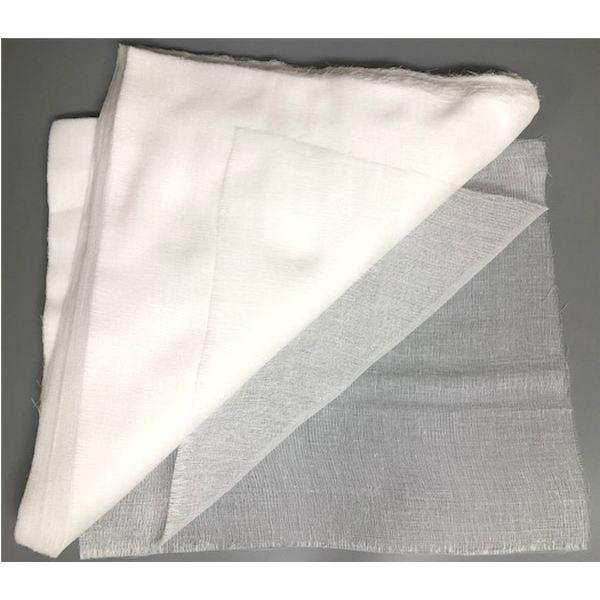 石膏パック用ガーゼ 縦長フェイスガーゼ 100枚(350x300mm)